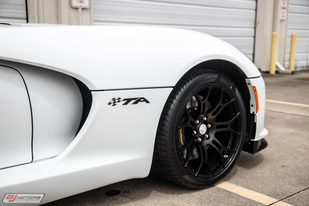 2014 Dodge SRT Viper TA 1.0 TA 1.0 Time Attack Tomball TX