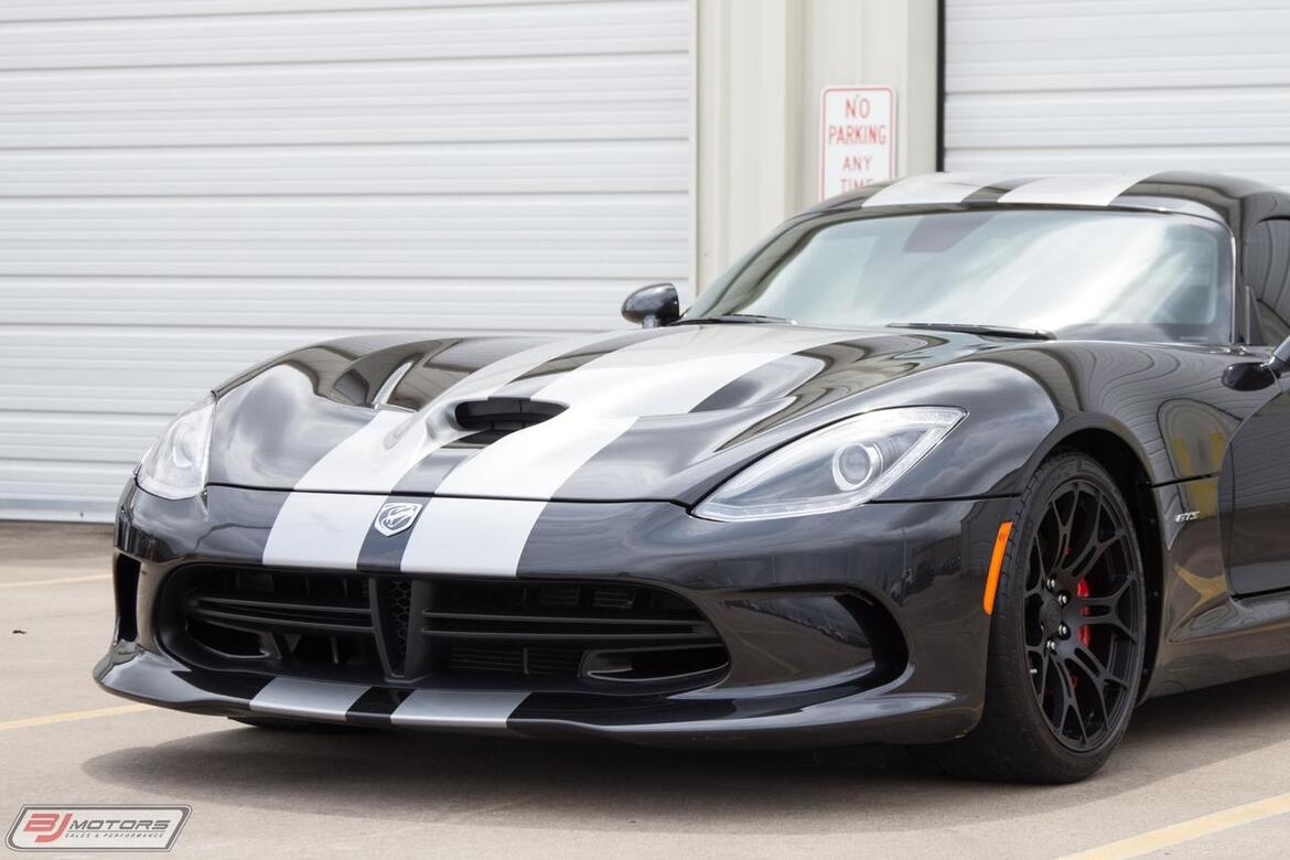 2014 Dodge Viper GTS VE Tractive Electronic Suspension Tomball TX
