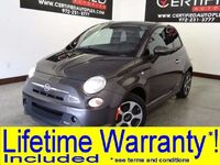 FIAT 500e NAVIGATION HEATED SEATS REAR PARKING AID POWER WINDOWS POWER MIRRORS 2014