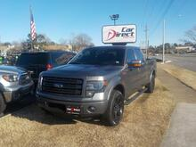 2014_FORD_F-150_4X4, BUY BACK GUARANTEE AND WARRANTY, NAV, DVD, BED LINER, SUNROOF, REMOTE START!!_ Virginia Beach VA