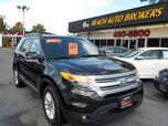 2014 FORD EXPLORER XLT,BUYBACK GUARANTEE, WARRANTY, 3RD ROW, SATELLITE RADIO, ROOF RACKS, BLUETOOTH, NICE!