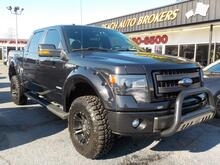 2014_FORD_F-150_FX4 OFF ROAD CREW CAB 4X4, WARRANTY, LEATHER, BACKUP CAM, REMOTE START, RUNNING BOARDS,SOFT TONNEAU!_ Norfolk VA