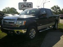 FORD F-150 XLT SUPER CREW 4X4, AUTOCHECK CERTIFIED, NAVI, BACK-UP CAM, TOW PKG, ONLY 54K MILES, NICE TRUCK!!! 2014