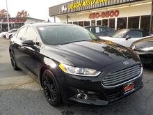 2014_FORD_FUSION_SE ECOBOOST, WARRANTY, LEATHER, NAV, BACKUP CAM, HEATED SEATS, SIRIUS RADIO, FOG LAMPS, LOW MILES!!!_ Norfolk VA