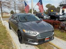2014_FORD_FUSION_SE, WARRANTY, LEATHER, SUNROOF, HEATED SEATS, SAT RADIO, BACKUP CAM, POWER DRIVERS SEAT, A/C SEATS!!_ Norfolk VA