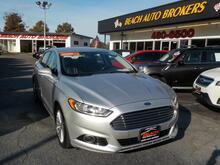 2014_FORD_FUSION_TITANIUM, CERTIFIED W/WARRANTY, LEATHER, HEATED SEATS, BLUETOOTH, SYNC, BACKUP CAMERA, REMOTE START!_ Norfolk VA