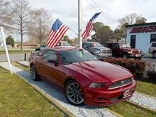 2014_FORD_MUSTANG_COUPE, WARRANTY, REAR SPOILER, BLUETOOTH, AUX PORT, POWER DRIVERS SEAT, KEYLESS ENTRY, ONLY 1 OWNER!_ Norfolk VA