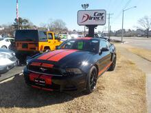 2014_FORD_MUSTANG_DELUXE, BUYBACK GUARANTEE, WARRANTY, CD PLAYER, SAT RADIO, REAR SPOILER, ONLY 26K MILES, BEAUTIFUL!_ Virginia Beach VA
