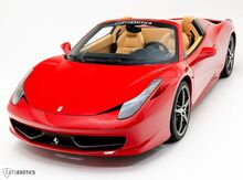 2014_Ferrari_458 Italia_Spider_ Seattle WA
