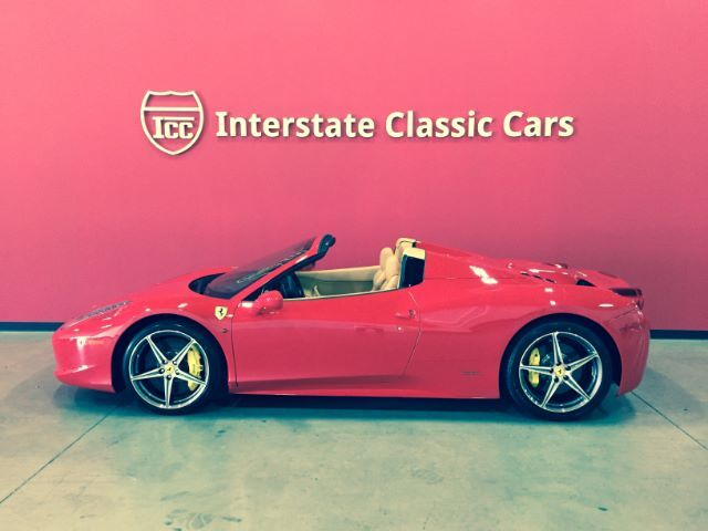 2014 Ferrari 458 Spider Rockwall TX