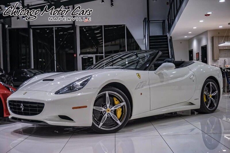 2014_Ferrari_California_Convertible_ Chicago IL