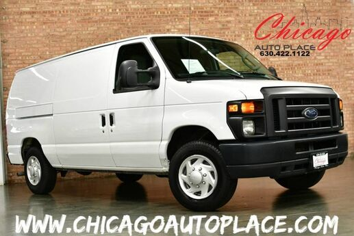 2014 Ford Econoline Cargo Van E-150 Commercial - WORK READY REAR STORAGE RACKS CABIN STORAGE BOX CLIMATE CONTROL AUX INPUT JACK CLEAN CARFAX Bensenville IL