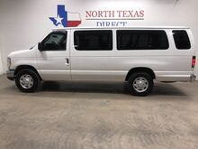 2014_Ford_Econoline Wagon_FREE DELIVERY XLT Ext 15 Passenger Van Keyless Bluetooth Rear AC_ Mansfield TX