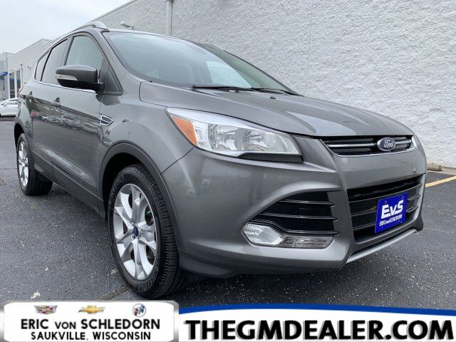 2014 Ford Escape Titanium 4WD 1.6L EcoBoost w/Navigation HtdMemLthr RearCamera Milwaukee WI