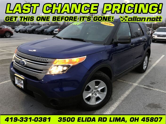 2014 Ford Explorer Base Lima OH