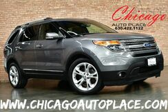 2014_Ford_Explorer_Limited - 3.5L V6 CYLINDER ENGINE FRONT WHEEL DRIVE BACKUP CAMERA KEYLESS GO BLACK LEATHER HEATED SEATS 3RD ROW_ Bensenville IL