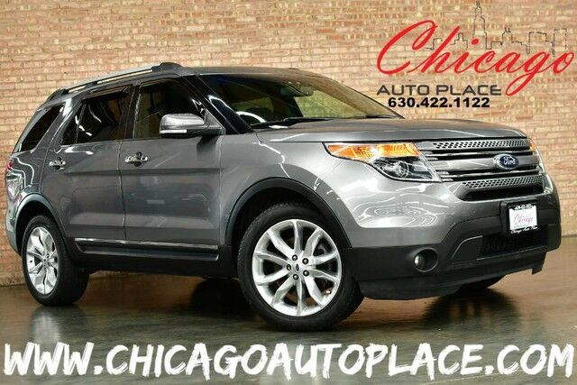 2014 Ford Explorer Limited - 3.5L V6 ENGINE 4WD NAVIGATION BACKUP CAMERA HEATED/COOLED SEATS PANO ROOF POWER FOLDING 3RD ROW POWER LIFTGATE Bensenville IL