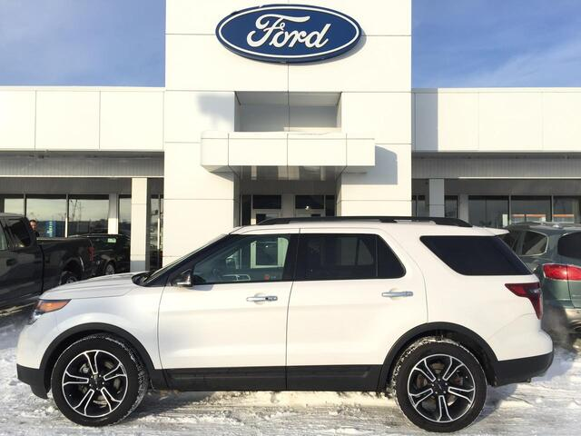 2014_Ford_Explorer_SPORT 4WD - 2ND-ROW CAPTAINS & COLLISION WARNING_ Edmonton AB
