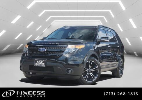 2014 Ford Explorer Sport 4X4 Pano Roof Navigation new Tires! Houston TX