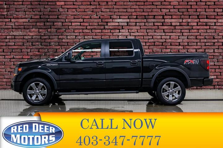 2014 Ford F-150 4x4 Super Crew FX4 Red Deer AB
