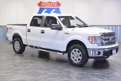 2014_Ford_F-150_CREWCAB 4WD! 5.0L V8! LOADED! CHROME WHEELS! NEW TIRES! LIKE NEW!!_ Norman OK