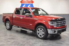 2014_Ford_F-150_CREWCAB 4WD 'LARIAT EDT.' LEATHER SUNROOF NAVIGATION! CHROME WHEELS!_ Norman OK