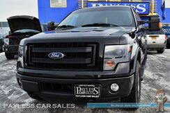 2014_Ford_F-150_FX4 / 4X4 / Crew Cab / 3.5L Ecoboost / Heated & Ventilated Leather Seats / Navigation / Sunroof / Sony Speakers / Auto Start / Microsoft Sync Bluetooth / Back Up Camera / Tow Pkg / 1-Owner_ Anchorage AK