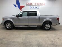 2014_Ford_F-150_Lariat Crew Gps Navi Camera Leather Park Assist Bluetooth_ Mansfield TX