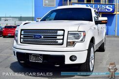 2014_Ford_F-150_Limited / 4X4 / Crew Cab / 6.2L V8 / Heated & Ventilated Leather Seats / Navigation / Sunroof / Sony Speakers / Auto Start / Microsoft Sync Bluetooth / Back Up Camera / Tow Pkg / Power Running Boards / 1-Owner_ Anchorage AK