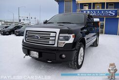 2014_Ford_F-150_Platinum / 4X4 / 6.2L V8 / Crew Cab / Auto Start / Heated & Cooled Leather Seats / Navigation / Sony Speakers / Sunroof / Bluetooth / Back Up Camera / Bed Liner / Block Heater / Tow Pkg / 1-Owner_ Anchorage AK