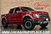 2014 Ford F-150 SVT Raptor - SUPERCREW CLEAN CARFAX 4WD PREMIUM SVT RACING WHEELS OFF ROAD TIRES XENON HEADLAMPS RED LEATHER RAPTOR SEATS OFF ROAD CAMERA NAVIGATION BACKUP CAMERA