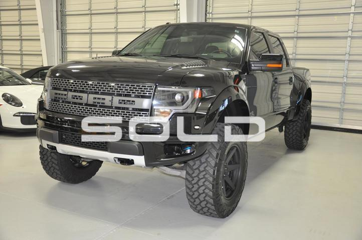 2014 Ford F-150 SVT Raptor Roush Supercharged Tomball TX