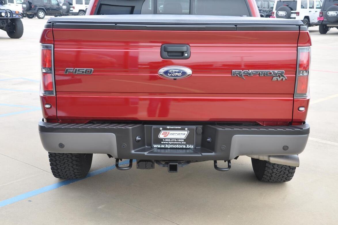 2014 Ford F-150 SVT Raptor Tomball TX