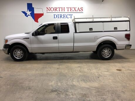 2014 Ford F-150 XL w/HD Payload Pkg ARE Camper Shell Tool Boxes Ladder Rack Mansfield TX
