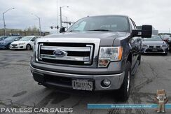 2014_Ford_F-150_XLT / 4X4 / Crew Cab / 3.5L Ecoboost / Power Driver's Seat / Microsoft Sync Bluetooth / Back Up Camera / Cruise Control / Bed Liner / Tool Box / Tow Pkg / 1-Owner_ Anchorage AK