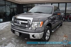 2014_Ford_F-150_XLT / 4X4 / Crew Cab / 5.0L V8 / Power Driver's Seat / Seats 6 / Bluetooth / Back Up Camera / Cruise Control / Bed Liner / Tonneau Cover / Tow Pkg / 1-Owner_ Anchorage AK