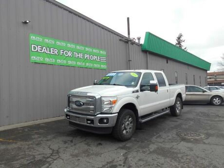 2014 Ford F-350 SD Lariat Crew Cab Long Bed 4WD Spokane Valley WA