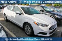 2014 Ford Fusion S South Burlington VT