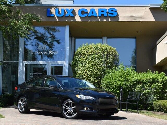 2014_Ford_Fusion_Titanium Ecoboost Leather AWD_ Buffalo Grove IL