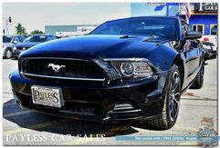 2014_Ford_Mustang_Coupe / 6-Spd Manual / Cruise Control / Back-Up Camera / Aux Input / PYPES Custom Exhaust / Only 25K Miles_ Anchorage AK