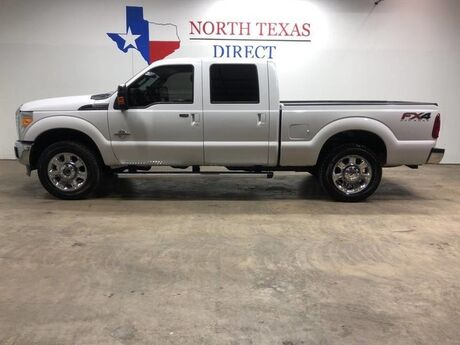 2014 Ford Super Duty F-250 SRW Lariat FX4 4x4 Diesel Crew Gps Navi Camera Leather Mansfield TX