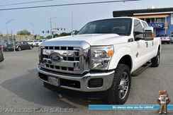 2014_Ford_Super Duty F-250_XLT / FX4 Off-Rd Pkg / 4X4 / Crew Cab / Long Bed / 6.7L Powerstroke Diesel / 2-Way Auto Start / Power Driver's Seats / Bluetooth / Seats 6 / Bed Liner / Running Boards / Aluminum Wheels / Low Miles / Tow Pkg_ Anchorage AK