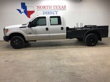 Ford Super Duty F-350 DRW 4x4 Dually Diesel Crew Cab Welding Bed Black XD Wheels 2014