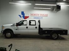 2014_Ford_Super Duty F-350 DRW_4x4 Dually Skirted Flat Bed Ranch Hand Bluetooth_ Mansfield TX