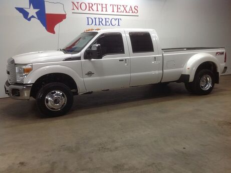 2014 Ford Super Duty F-350 DRW FREE DELIVERY Lariat FX4 4x4 Diesel DRW Heated AC Seats Gps Navi Sunroof Mansfield TX