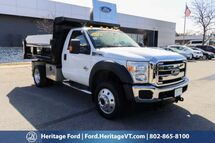 2014 Ford Super Duty F-550 DRW XLT South Burlington VT