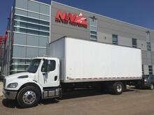 2014_Freightliner_M2 106 - 24' Van Body with Lift Gate_Air Ride_ Calgary AB