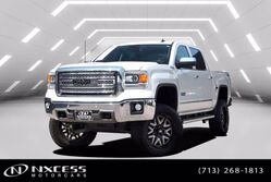 GMC Sierra 1500 SLT 4X4 Z71 Pkg. Lifted 6 in 37 in Tires 20 in Wheels 2014