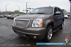 2014_GMC_Yukon_Denali / 4X4 / 6.2L V8 / Auto Start / Heated & Cooled Leather Seats / Heated Steering Wheel / Navigation / Sunroof / Bose Speakers / Blind Spot Alert / Rear Entertainment / Rear Captain Chairs / 3rd Row / Seats 7 / Tow Pkg_ Anchorage AK