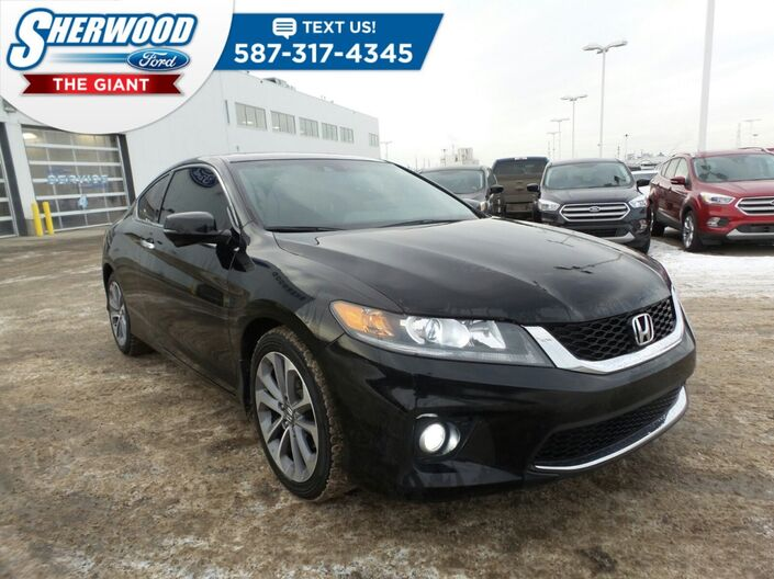 2014 Honda Accord Coupe EX-L w/Navi Sherwood Park AB